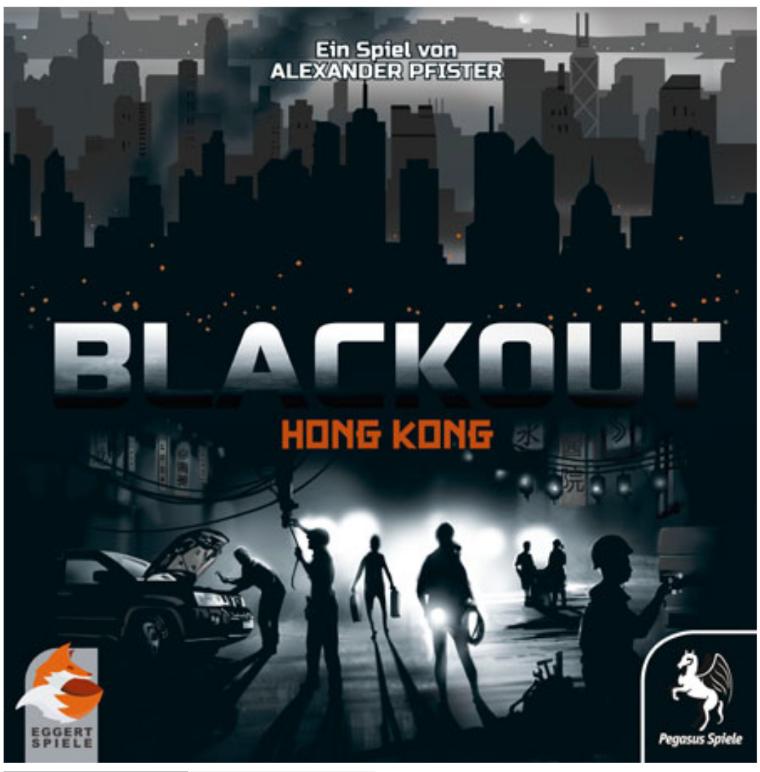 Blackout Hong Kong - Brettspiel für 1-4 Spieler ab 10 Jahren [Spiele Offensive]