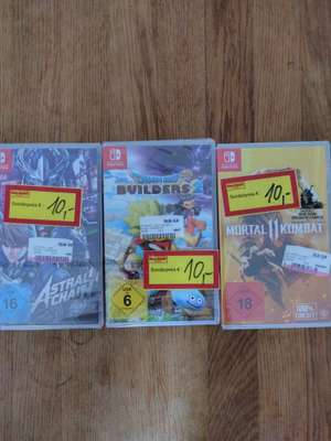 [Lokal Stuttgart Media Markt] Switch/Xbox/PS4/PC Spiele stark reduziert (Dragon Quest Builders 2, Mortal Kombat 11, Call of Duty uvm.)