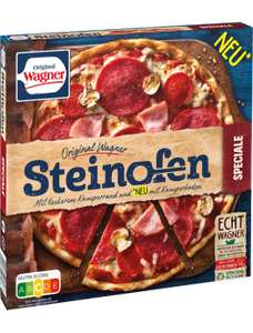 Original Wagner Steinofen Pizza versch. Sorten für je 1,32€ [Kaufland]