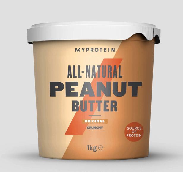 Myprotein UK: 1kg Erdnussbutter 4,71€ - gratis Versand ab 6 Stück