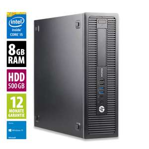 [AfB-Shop] HP EliteDesk G1 SFF (i5 4590, 8GB RAM, 500 GB HDD, Windows 10 Home, Grade A)
