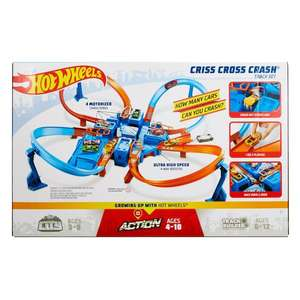 [Smyths Toys] Hot Wheels Criss Cross Crash Track-Set