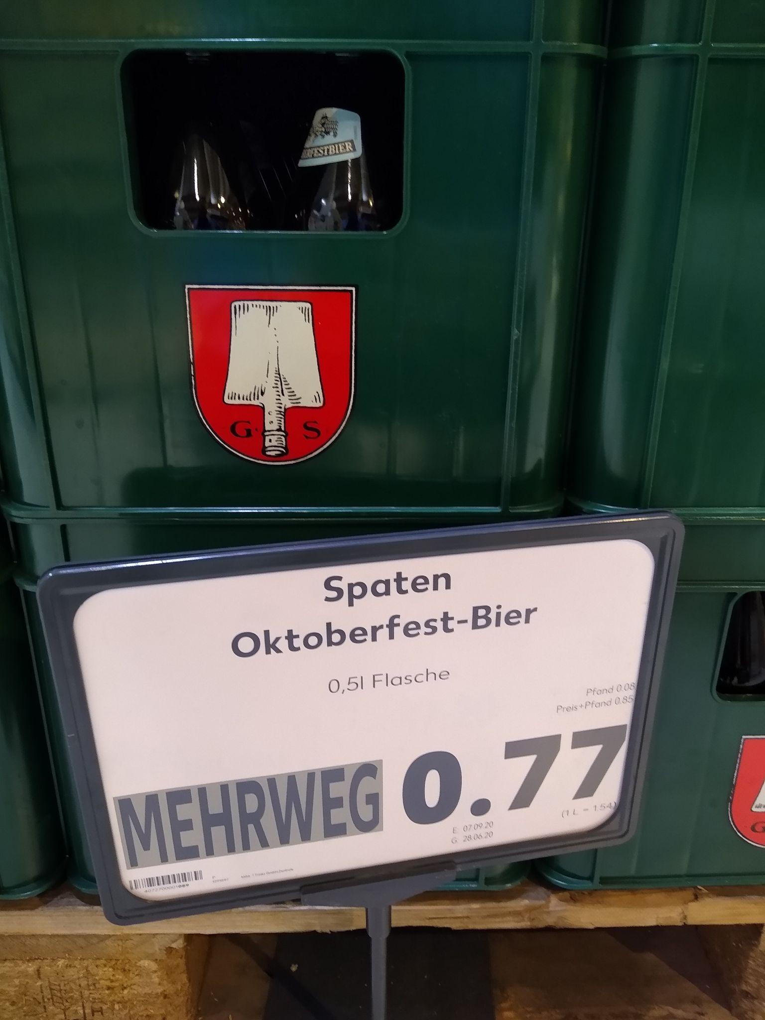 LOKAL (Kaufland Berlin) Spaten Oktoberfestbier