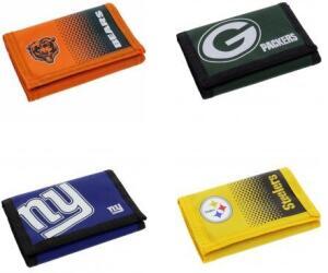 """NFL """"Big Logo Wallet Portmonee"""" für 2,22€ + 3,95€ VSK (6 verschiedene Varianten verfügbar) [SportSpar]"""