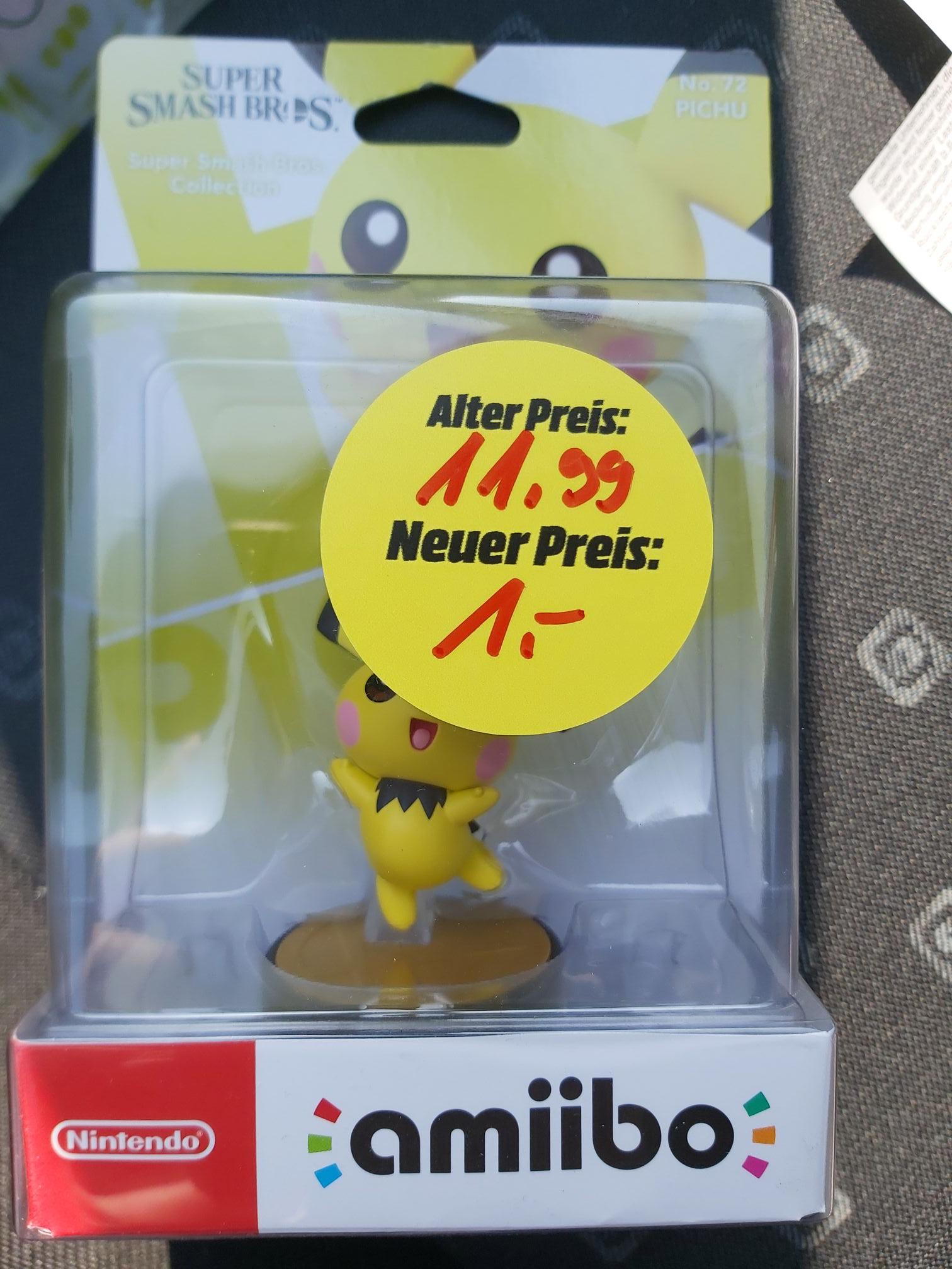 [Lokal Media Markt Neuss] Nintendo amiibo Figur Pichu nur 1€
