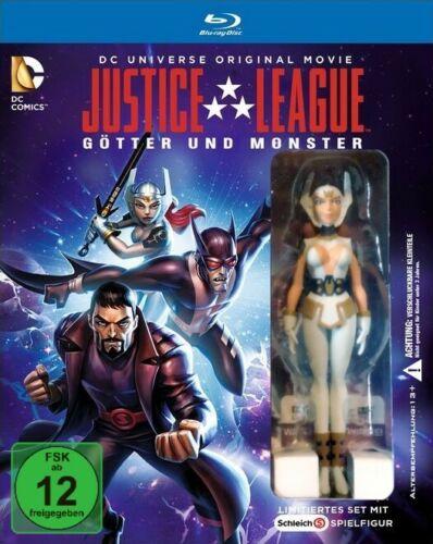 Justice League: Götter & Monster (Blu-ray) inkl. Wonder Woman Schleichfigur für 7,99€ (Müller Abholung)