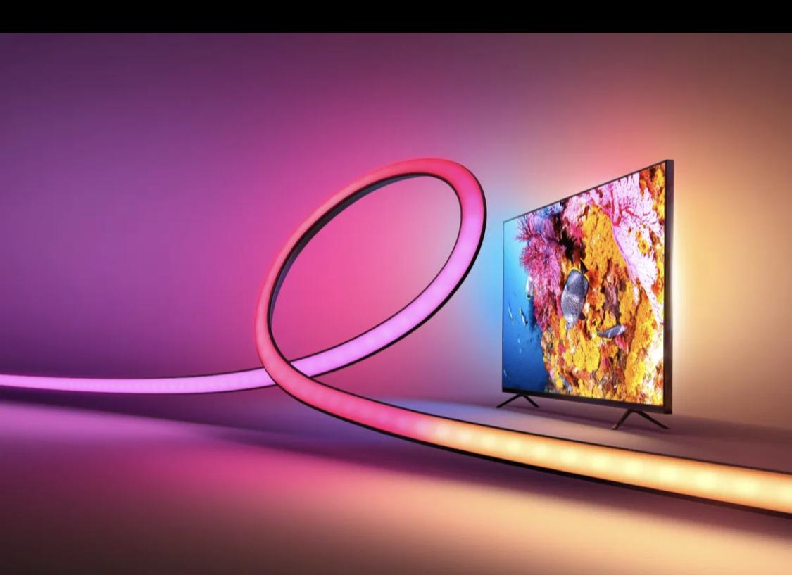 "Hue Play Gradient Lightstrip 55"" + HDMI Sync Box [Mediamarkt / Saturn PHILIPS]"