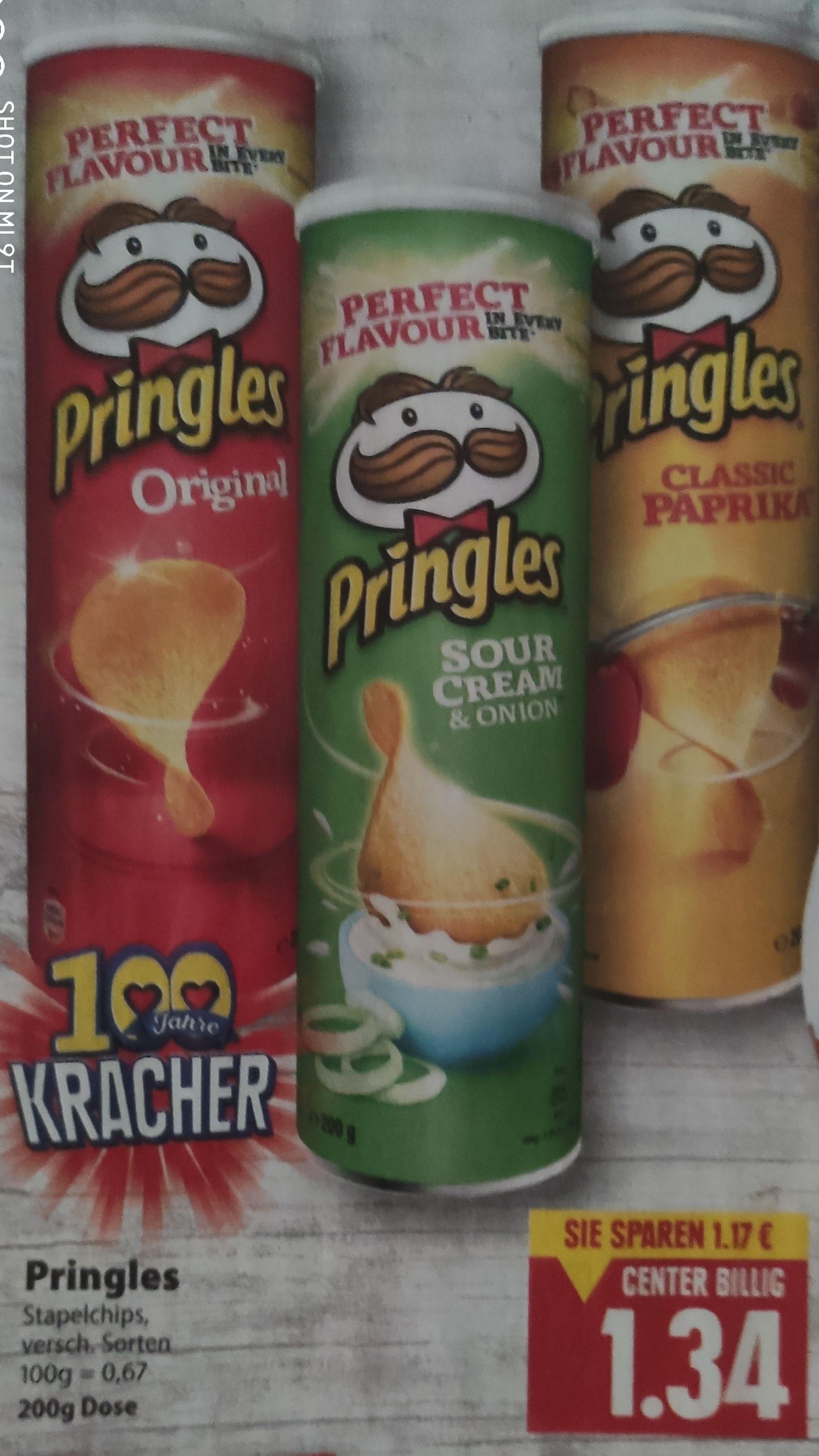 [Edeka Center Minden-Hannover/Südbayern/Südwest/Nord] Pringles verscheidene Sorten dank Reebate Cashback für effektiv 1,04€