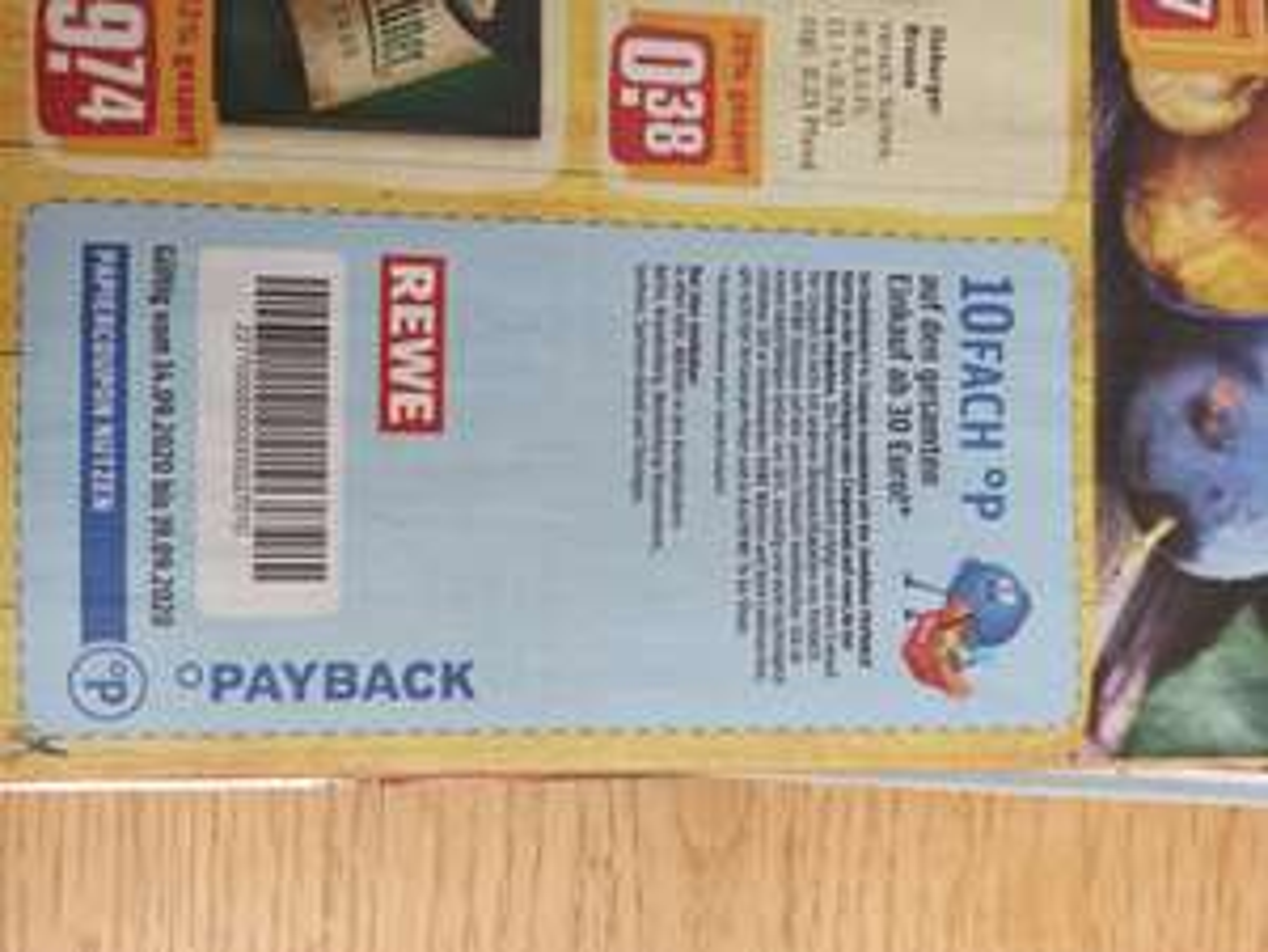 Rewe 10fach Payback (ausgewählte Bundesländer) - 30€ MBW