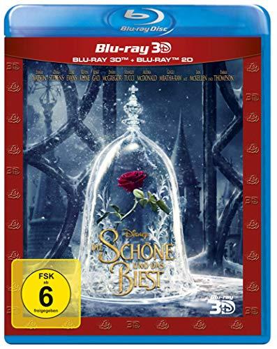 Die Schöne und das Biest 3D (Blu-ray 3D + Blu-ray) für 10,43€ (Amazon Prime)