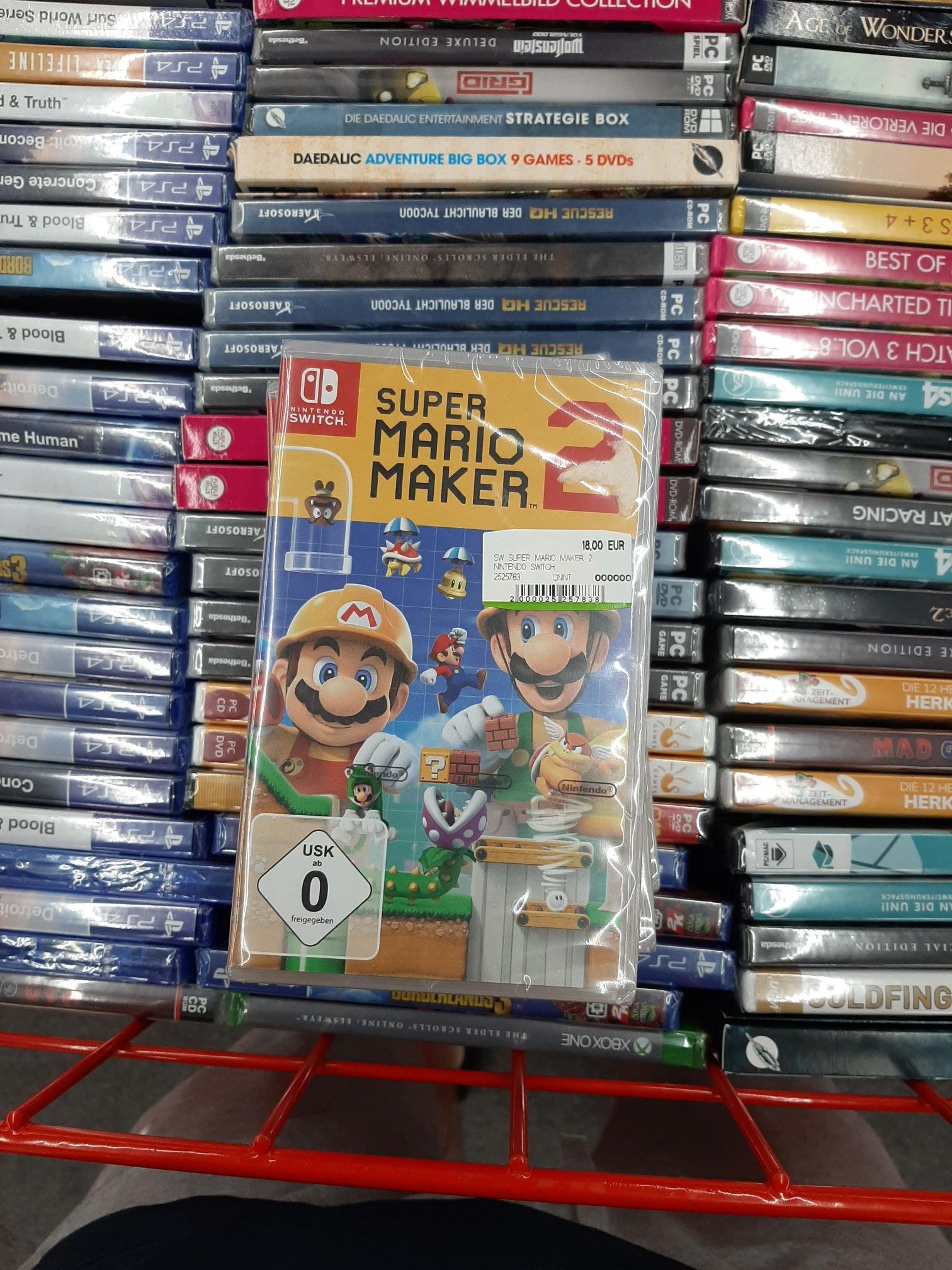 Lokal - Berlin Spandau Media Markt - Mario Maker 2 (Switch)