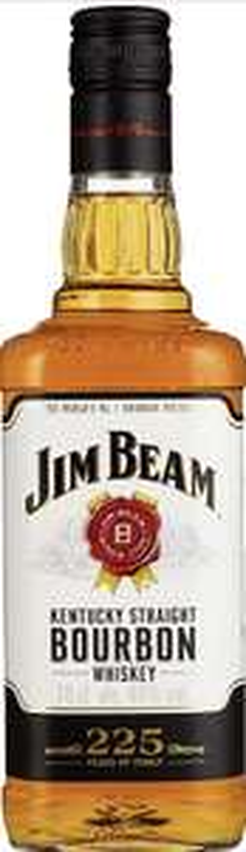 Jim Beam Kentucky Straight Bourbon Whiskey 40% Vol, 1 x 0,7