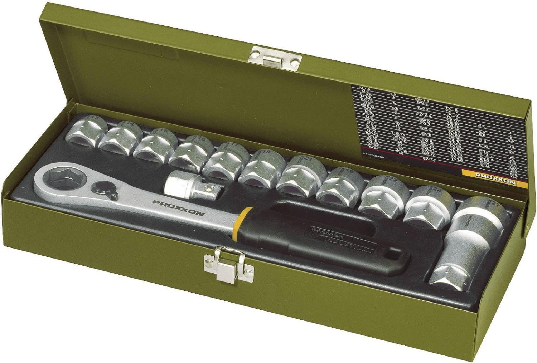 """Proxxon Industrial Steckschlüsselsatz metrisch 1/2"""" 14teilig 23604 für 44,50€ [Voelkner]"""