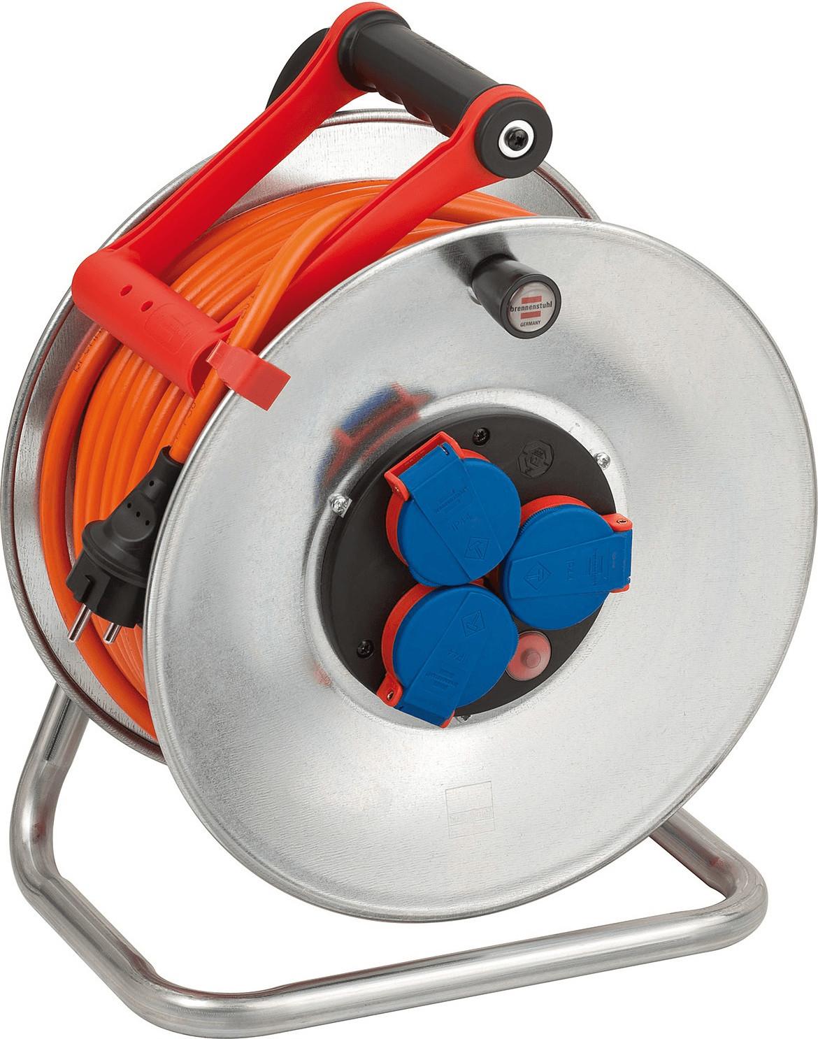 Brennenstuhl Kabeltrommel Garant S 290 40m IP 44 orange für 45,89€ [voelkner]