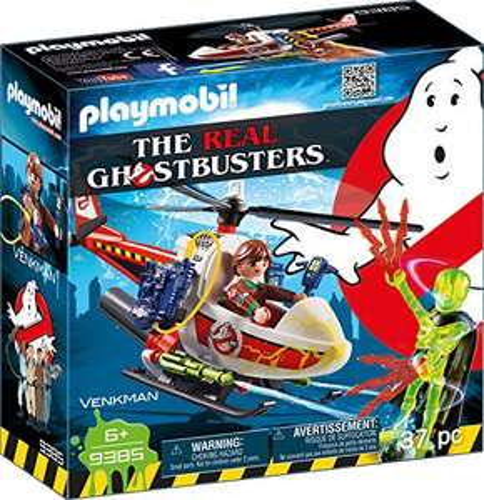 Playmobil Ghostbusters - Venkman mit Helikopter (9385) für 9,99€ (Amazon Prime)