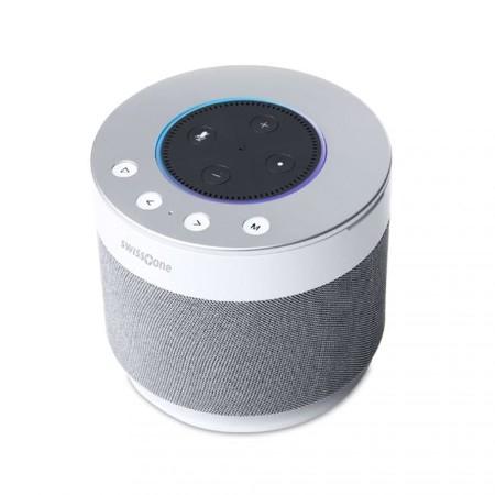 swisstone Dotbox 1 Bluetooth Lautsprecher 15W für Alexas Echo Dot 2. Gen.
