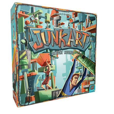 """Geschicklichkeitsspiel """"Junk Art"""" (Plastikversion)."""
