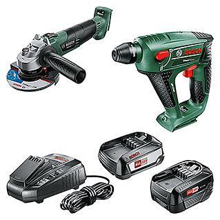 Bosch Pack & Go - 2 Geräte + 2x Akku + Ladegerät + 50€ Bauhaus Gutschein