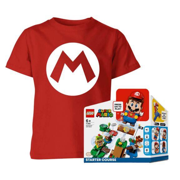 LEGO Nintendo Super Mario Bundle (Shirt + Lego Starter Set) für 48,59€ @ iWOOT