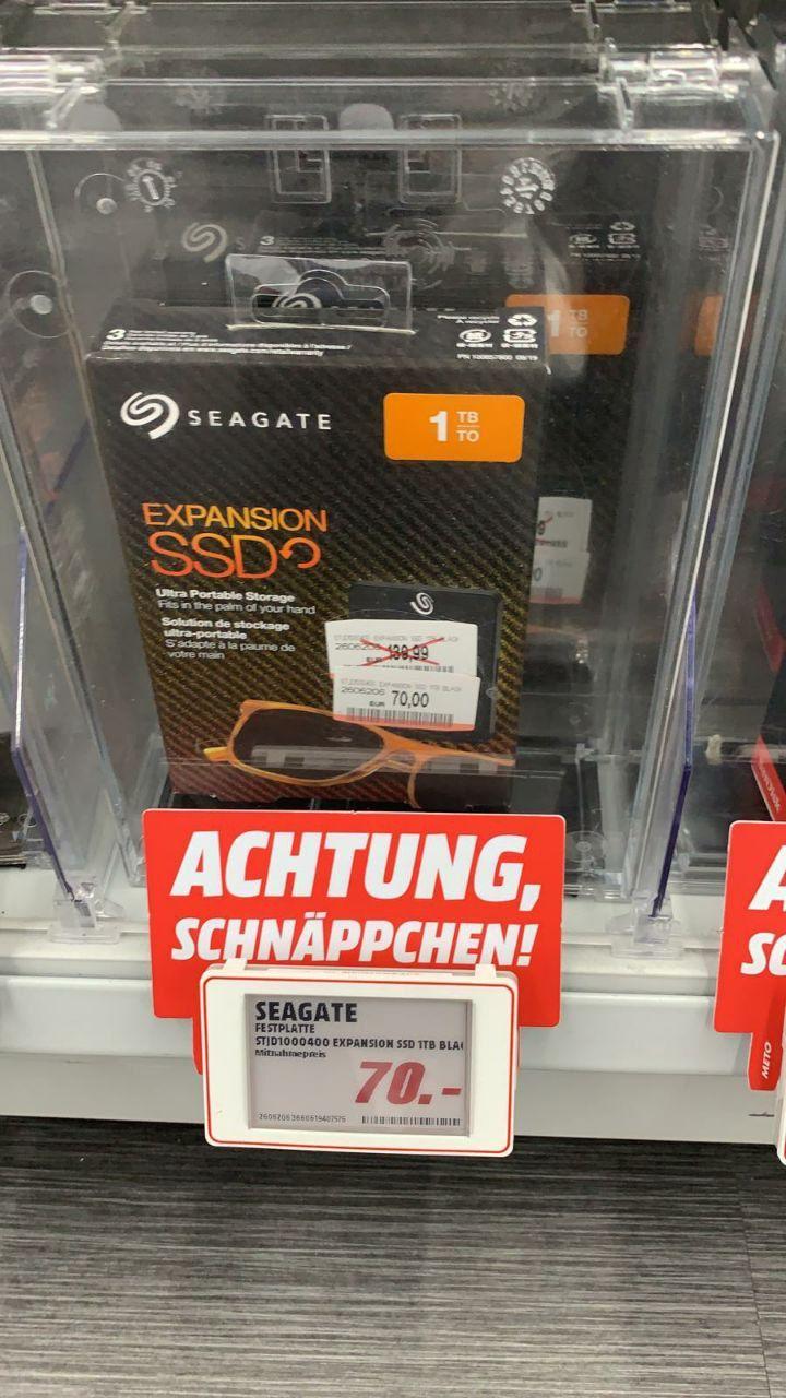[LOKAL Media Markt Berlin - Alexanderplatz] Seagate Expansion SSD 1TB