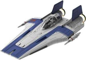 REVELL Star Wars Modellbausatz Build & Play A-Wing Fighter blau 1:44 [Thalia Classic]