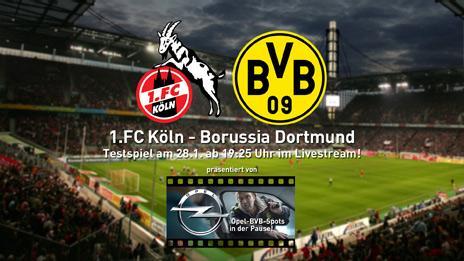 [Testspiel Livestream] Borussia Dortmund - 1. FC Köln - Montag