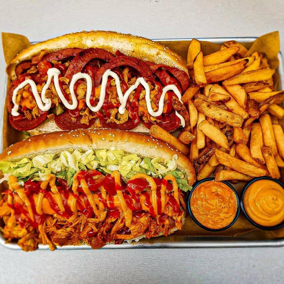 """[LOKAL] [FFM] """"3 Streifen"""" Sandwich Lokal - Beilage & Dip gratis"""