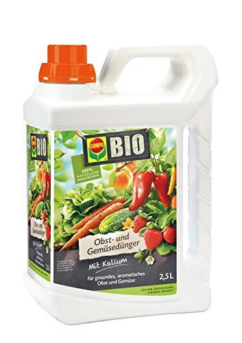 [Amazon PRIME] Compo BIO Obst- und Gemüsedünger, Flüssigdünger, 2,5 Liter