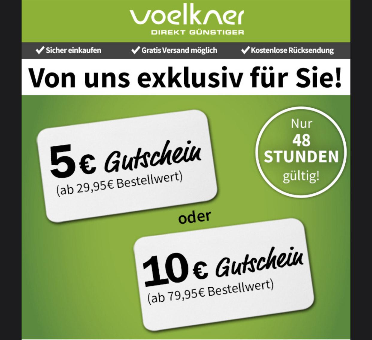 5€ Rabatt ab 29,95€ & 10€ Rabatt ab 79,95€ Bestellwert