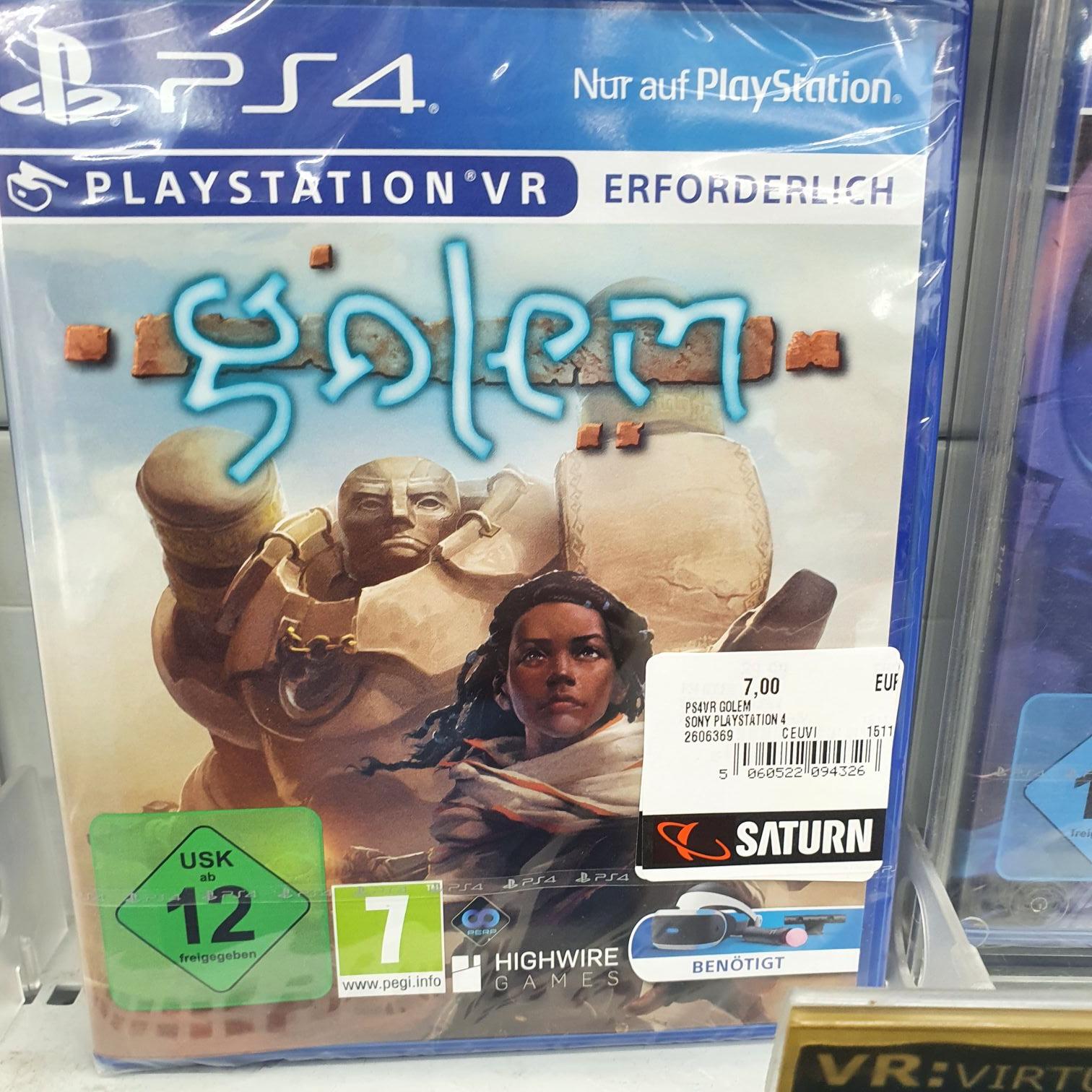[Lokal] Saturn Düsseldorf KÖ - Diverse PSVR Spiele PS4