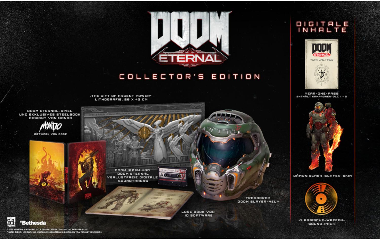 Doom: Eternal Collector's Edition (PS4 & Xbox One) für 173,22€ inkl. Versand (eBay)