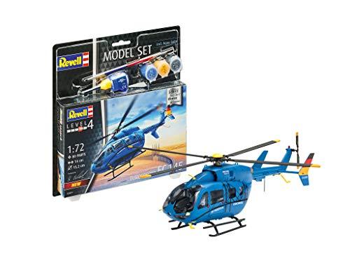 Revell EC 145 Builders' Choice, Hubschraubermodellbausatz 1:72 mit Basis-Zubehör für 11,81€ (Amazon Prime & Saturn & Media Markt Abhlung)
