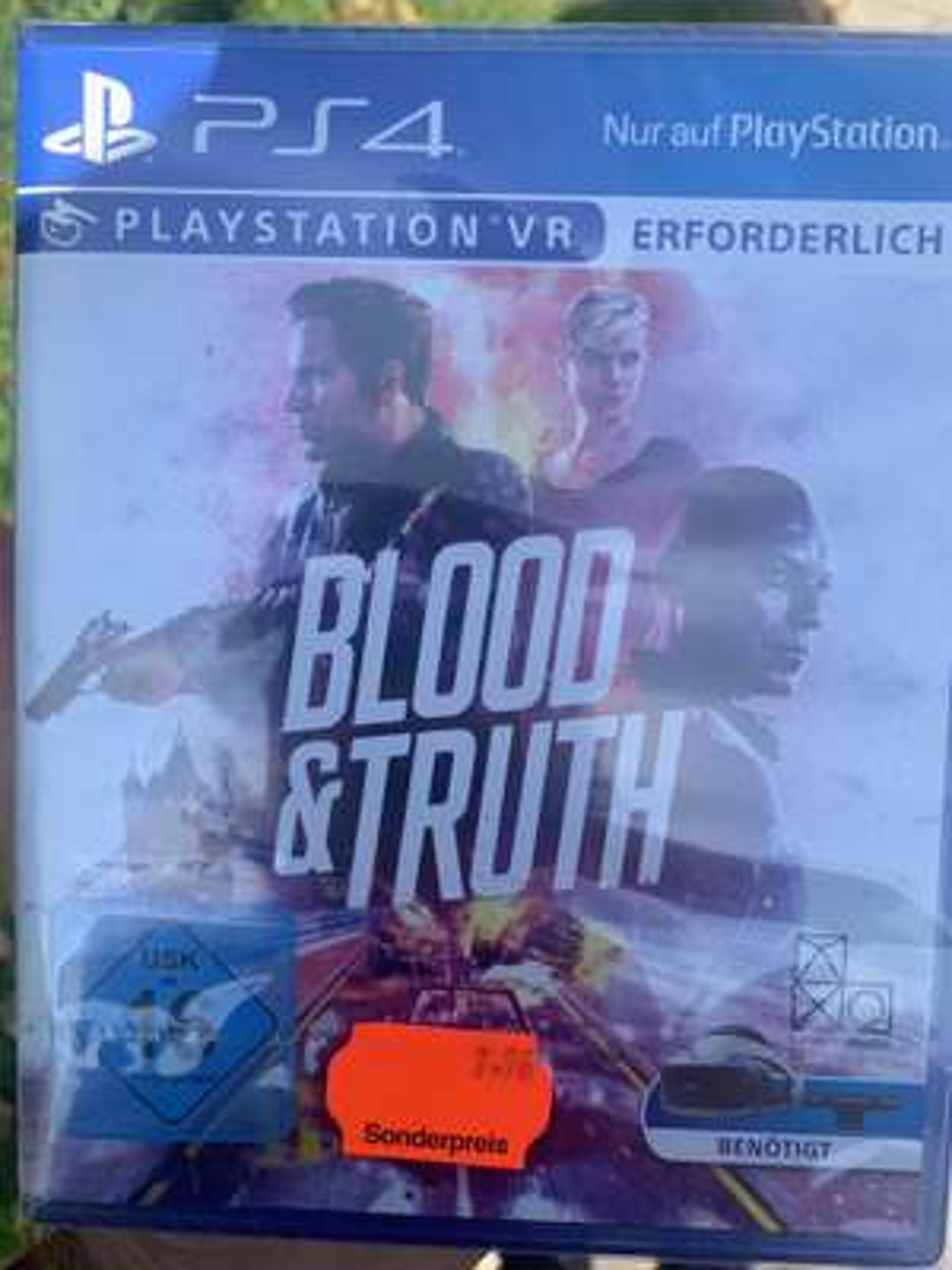 (Lokal Münster York-Center) Blood &Truth PS4-VR für 7,76€