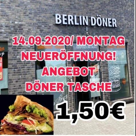 Lokal Extertal - Döner für 1,50€ zur Neueröffnung