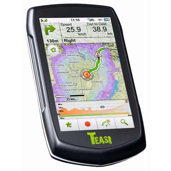 TEASI VOLT e-Bike Fahrrad GPS Navigation zum Mega Deal