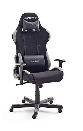 DX Racer 5 Gaming Stuhl schwarz/grau bei Amazon