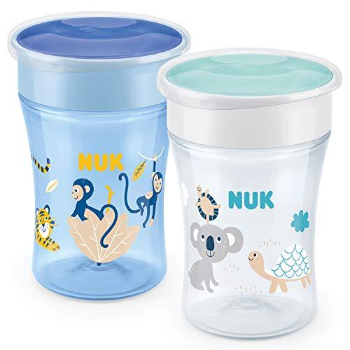 [Amazon Prime] NUK Magic Cup 2er Set 230 ml inkl. Schutzkappen