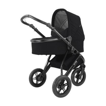knorr-baby Kombi Kinderwagen BrakeSport 3 mit Handbremse in Schwarz