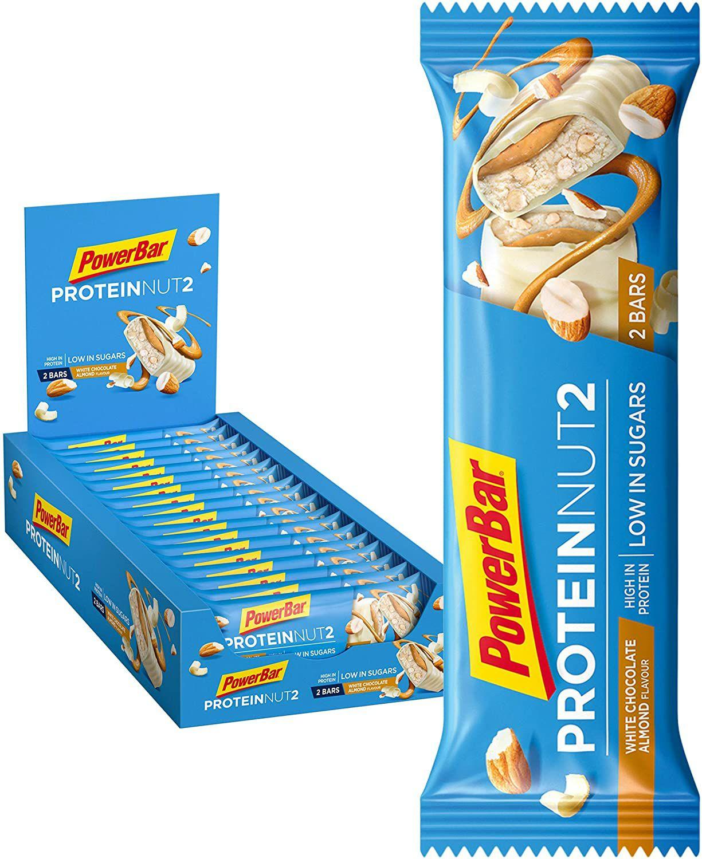 PowerBar Protein Nut2 White Choco Almond [18x 45g] im Spar-Abo