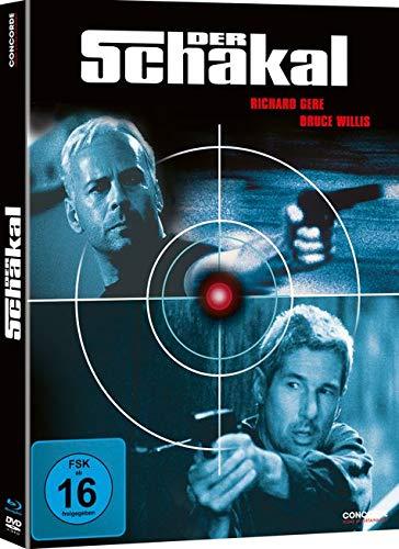 Der Schakal Limited Mediabook Edition (Blu-ray + DVD) für 9,74€ (Saturn Abholung)