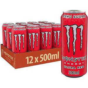 Monster Energy Ultra Red 12x (12,92 / 1,08€ je Dose)