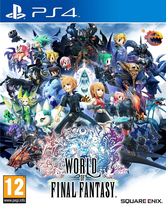 World of Final Fantasy (PS4, englischer Ton, deutscher Text, Metacritic 77/7.7)