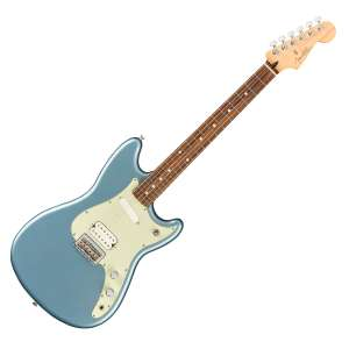 Fender Player Offset Duo-Sonic HS PF Ice Blue Metallic Gitarre für 451,55€ @ GuitarGuitar