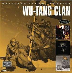 Wu-Tang Clan: Enter the Wu-Tang - 36 Chambers / The W / Iron Flag Explicit Content oder Nas - It Was Written + I Am... + Stillmatic (Prime)