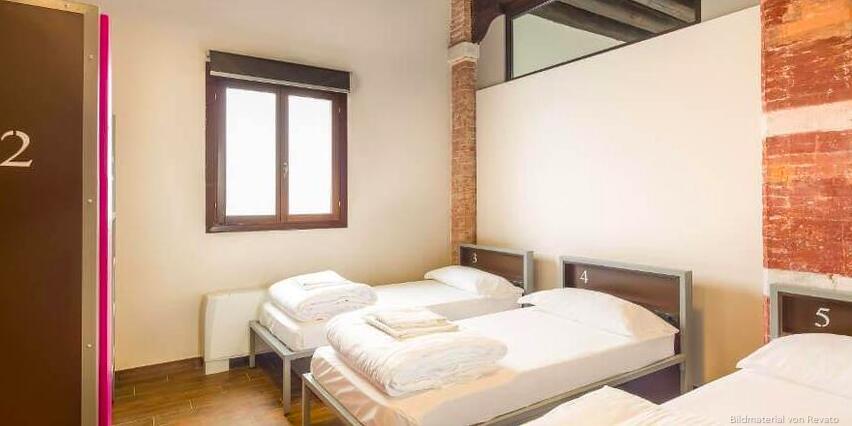 Generator Hostel Venedig im privaten Fam.-Zimmer inkl. privatem Bad ab 26€/Nacht