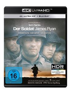 Der Soldat James Ryan 4K (4K UHD + Blu-ray) für 14,61€ (Amazon Prime)