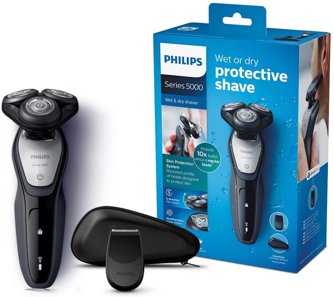 Philips S5290/12 Elektrischer Nass-und Trockenrasierer Series 5000