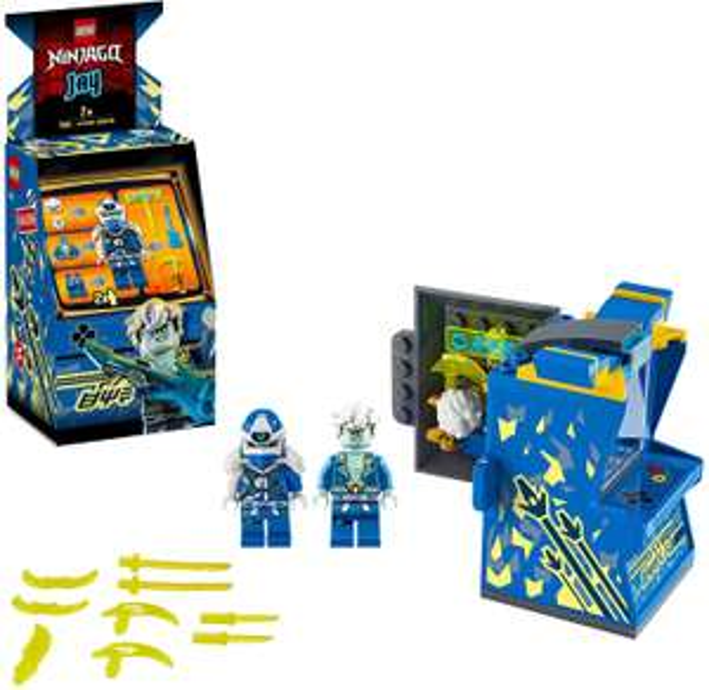 LEGO Ninjago - Avatar Jay - Arcade Kapsel (71715) für 7,20€ (Amazon Prime & Real Abholung)
