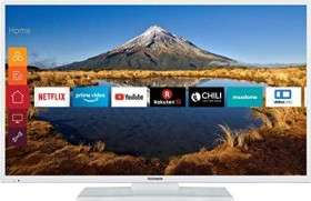 "Telefunken XF49G511-W 49"" LED-TV (Direct-LED, Triple-Tuner, Smart TV)"