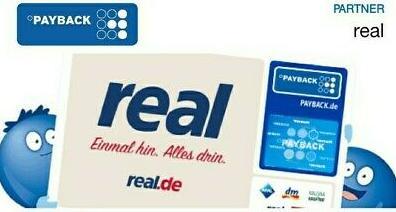 [real] 10-fach Payback-Punkte ab 30€ Einkaufswert vom 23.09. - 24.09.2020
